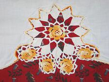 Lovely Antique Vintage Pillowcase~Delicate Irish Crochet Lace~
