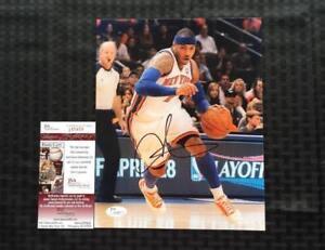 Carmelo Anthony Autographed Photo