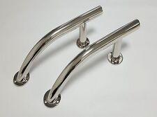 Pair of Handrail/Grab Rail/Handle 328mm AISI 316 Stainless Steel Marine Boat