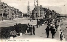 Weymouth. The Parade # 22 by LL / Levy. Black & White.