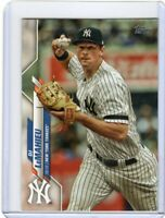 2020 TOPPS BASEBALL CARD # 121- DJ LeMAHIEU -  NEW YORK YANKEES