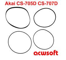 Riemen Belts for Akai CS-705D CS-707D CS 705D 707D Tape Deck