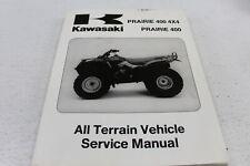 KAWASAKI OEM '97 '98 PRARIE 400/4X4 SERVICE REPAIR MANUAL 99924-1201-02