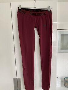 Coole Leggings Von Smilodox Gr L Dunkel Rot  2 Mal Getragen