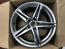 "GENUINE OEM AUDI A4 S4 18"" INCH B9 SPARE ALLOY WHEEL S-LINE 8W0601025R"