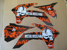 FX METAL MULISHA  GRAPHICS KTM SX SXF XC XCF  2013 2014 2015