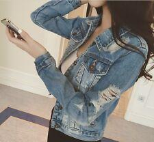 Fashion Jeans Jacket Women 2017 Plus Size 5XL 6XL Autumn Hand Brush Long Sleeve