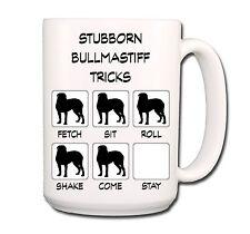Bullmastiff Stubborn Tricks Extra Large 15oz Coffee Mug