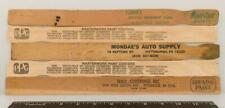 Vintage Lot of Wood Paint Stirrers Advertising Pittsburgh Pennsylvania g35