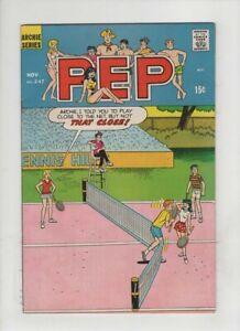 PEP #247 VF+, Dan DeCarlo cover & art, Bob Bolling & Samm Schwartz art, Archie