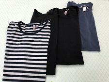 4x Maternity Tops T-Shirt Bundle Size Small H&M , GAP,  ASOS