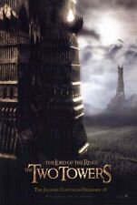MOVIE POSTER~The Two Towers Lord of the Rings 2002 Myst Elijah Wood Frodo Print~