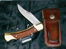 "Schrade USA LB7 Knife & Sheath 1981 ""Serial #Q88155"" Gently Used Very Nice Piece"