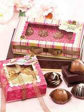 Creat and Share Coffee & Chocolates Gift Boxes Annie's Paper Crafts Pattern Book