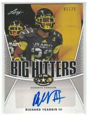 2014 RICHARD YEARGIN III LEAF US ARMY ALL-AMERICAN AUTOGRAPH AUTO 1/25 EBAY 1/1?