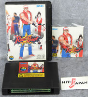 REAL BOUT FATAL FURY SPECIAL NEO GEO AES SNK neogeo Ref/1830 FREE SHIPPING JAPAN