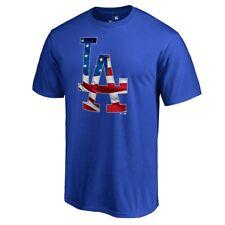 Men's Los Angeles Dodgers 2019 Stars&Stripes Blue Cotton T-Shirt XL by Fanatics