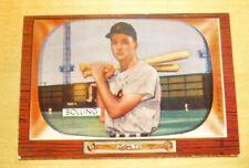 1955 Bowman Frank Bolling Detroit Tigers American Baseball Card
