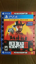 Red Dead Redemption 2: Ultimate Edition (PlayStation 4, 2018)