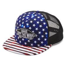 VANS - Mens Snapback Trucker Hat (NEW) Americana STARS STRIPES America Flag USA