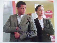 Brad Pitt, Angelina Jolie - 8x10 Photograph Signed Autographed Free Shipping