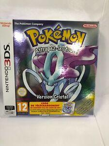Pokémon Version Cristal (Nintendo 3DS, 2018) VF