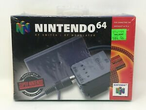 RF Switch / RF Modulator for Nintendo 64 N64 SNES - Brand New and Sealed!