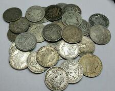 MORGAN DOLLARS ● 10 COINS ●  MIXED GRADES AND DATES ☆☆☆☆☆ SHIPS FREE  ☆☆☆☆☆