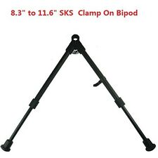"FieldSport Sks Aluminum Regular Height Bipod 9""-12"" Adjustable Clamp On"