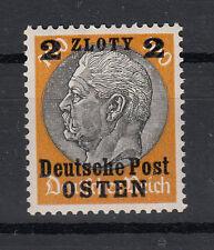 Generalgouvernement  Briefmarken 1939 Post Osten Mi.Nr.13 ** postfrisch
