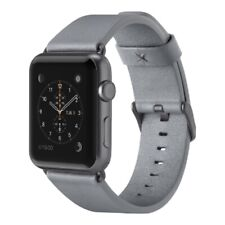 Belkin Classic (Genuine) Leather Band for Apple Watch 42mm - Grey
