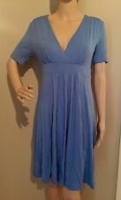M blue EMPIRE WAIST SWEETHEART NECKLINE dress by GAP