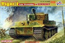 DRAGON 6383 1/35 German Tiger I Late Production w/Zimmerit [Bonus:Magic Tracks]