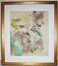 Listed Chinese Artist Tseng - Ying Pang, Original Signed Watercolor & Ink