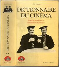 JEAN TULARD - DICTIONNAIRE DU CINEMA tome 2 - BOUQUINS