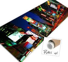 "New York City Urban canvas print 50"" x 20"" matchpopart"