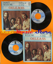 LP 45 7'' ORLEANS Dance with me Ending of song 1975 italy ASYLUM 13023 cd mc dvd