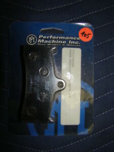 Performance Machine brake pads Harley Softail FXR Dyna FL 0051-1602SA NOS EP405