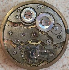 Chronometre Cortebert Pocket  Watch movement & dial 45 mm in diameter stem to 3