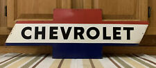 Chevrolet Metal Sign Garage Vintage Style Chevy Wall Decor USA Tools Parts Gas