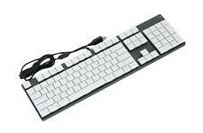 Micronics K940 Mechanical Gaming Keyboard English Korean White Chocolate Switch