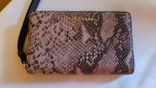 Cole Haan Smartphone Wallet Snakeskin Adeline NWT