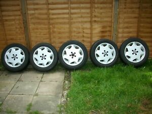Volvo 960 Alloy wheels and tyres Will fit( V90 S90 S80 940+others clean)