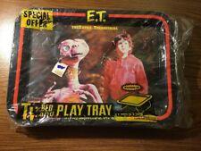 Extra Terrestrial TV Tray Vintage E.T. 1980's  Spielberg Movie Original NOS NEW