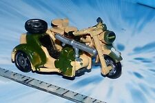 MICRO MACHINES MILITARY MOTORCYCLE BMW R75 w/Side Car # 7