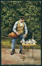 Palermo Costumi Siciliani cartolina QQ0918