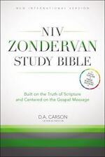 NIV Zondervan Study Bible ^ Full Color, Free Digital Acess - New Hardcover w DJ