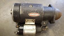 1955 CADILLAC DELCO-REMY WORKING STARTER MODEL 1107629 SERIAL 508 USA 12 VOLT