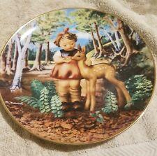 "Hummel Danbury Mint collector plate Gentle Friends ""Friends"" Lm3735"