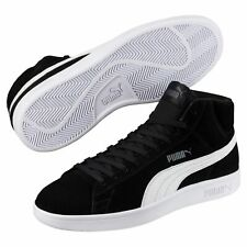 Puma Smash v2 Medio SD Unisex Adulto Zapatillas Retro Look 366923 Black Negro